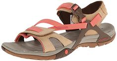 18c4a124c560 Merrell Womens Azura Strap SandalTan6 M US     Read more reviews of the  product