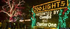 Zoo Lights every Christmas at the Lincoln Park Zoo