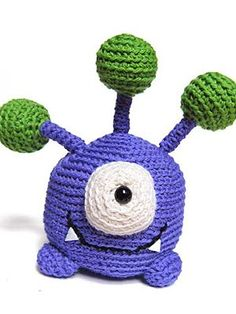 Zoink the Monster - This is the 10th in a series of 10 adorable monsters!Meet Zoink… isn't he adorable?!?