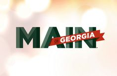 Proposed Naming + Identity // Main on Georgia // for Hotbed Creative