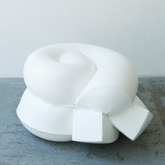Foam dipped in rubber becomes seating by Jo Nagasaka