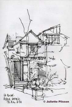 URBAN SKETCHERS FRANCE: La Ruche