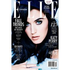 Katy Perry | By Mariano Vivanco for Elle | Canada October 2013