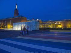Museum Boijmans Rotterdam. Art by digital artist Hans Hunefeld.