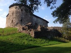 Raasepori, Finland - ruins of the medieval castle on the South Finland