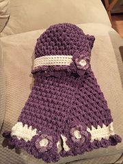Ravelry: dmwnole's Danielle's Birthday scarf