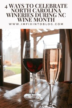 NC Blogger I'm Fixin' To shares 4 ways to celebrate North Carolina wines during NC Wine Month, including information on delivery. Check it out!