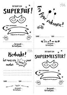 Op Pinterest is een aantal van onze briefjes super populair! Hieronder de BroodBriefjes Top 5 volgens Pinterest! Juf/Meester bedankt! (meer dan 1900 pins!) RekenRaadsels (meer dan 1200 pins!) Grote Mensenbriefjes (meer dan 1200 pins!) Toetsweek (meer dan 1100 pins!) Vakantie (meer dan930 pins!) Gerelateerd