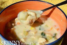 Skinny State of Mind: Chicken Pot Pie Soup