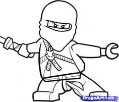Draw Ninjago- Step-by-Step Tutorial