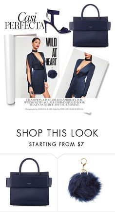 """NAVY NAVY NAVY🐬"" by sberryxx ❤ liked on Polyvore featuring Givenchy, Whiteley, Charlotte Russe and Whistles"
