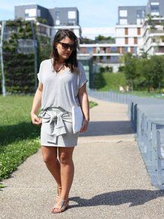 La jupe sweat par @modasic