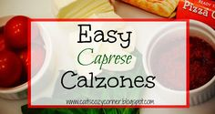 Easy Caprese Calzones ! The easiest way to get your favorite meal with only 5 ingredients! See more here--> https://ooh.li/2b492d5 #Ad #StellaCheeses