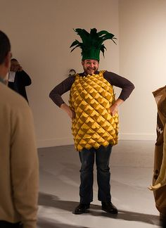 Amy Ho Wearable Fod Costumes (pineapple) | Flickr - Photo Sharing!