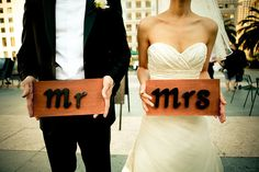 mr and mrs!