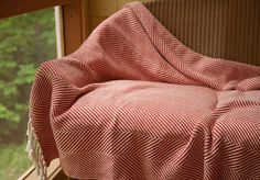 Brahms Mount crafts premium cotton, linen and wool blankets, throws and towels on antique shuttle looms in Maine, USA Wool Blanket, American Made, Pattern, Cotton, Fleece Blanket Edging, Model, Patterns, Pattern Print