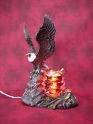 Electric Oil Wax Burner Warmer Diffuser. Great Gift Idea and Decor! http://mkt.com/pure-oils/m-eagle #oils #waxtart #warmer #Wax #burner #homedecor #eagle #bird #lamp #Soywax #tart #giftideas
