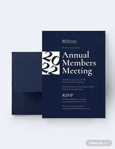 Business Meeting Invitation Template - Word (DOC) | PSD | InDesign | Apple (MAC) Pages | Publisher | Illustrator | Template.net