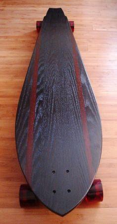 sweet longboard: