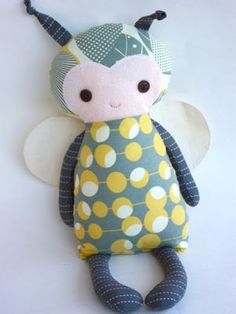 Baby Bumblebee Doll - 14 inch