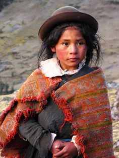 We met this girl and her younger brother tending to their alpacas while on a trek through the Lares Valley, in Peru.