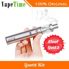 eleaf ijust 2 kit 2600 mah bateria ml atomizador vaping kit e cigarro eletrônico completo vs só bateria original Kit, E Cigarette, Electronic Cigarettes, Vaping, The Originals, Electronic Cigarette, Vapor Cigarettes, Vape, Vape