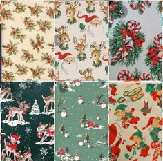Vintage Christmas Wrapping Paper, Alexander Mcqueen Scarf, Wraps, Rolls, Rap
