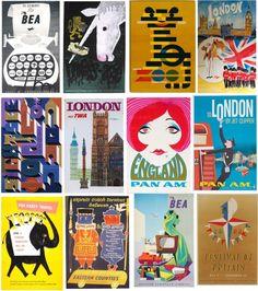 Vintage London Posters