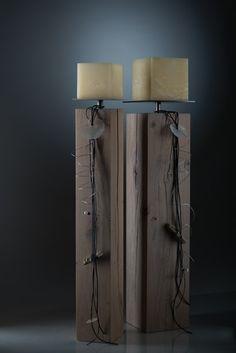 Sonstige Dekoration 2-er Set Windlichter Beton Glas Tischleuchten Kerzenleuchte Handarbeit Can Be Repeatedly Remolded.