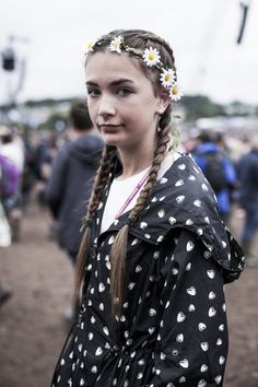 Pin for Later: The Festival Style at Glastonbury Has Never Been Better Glastonbury 2015 Street Style