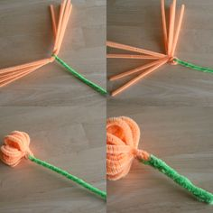 easy pipe cleaner crafts - Google Search