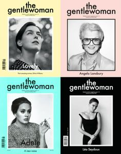 #the gentlewoman, dreamt up by Penny Martin,