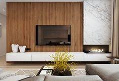 био-камин в современном интерьере квартиры