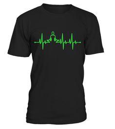 Yoga Heartbeat Flatline T-Shirt - Limited Edition