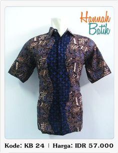A Batik shirt from Hannah Batik, Semarang, Indonesia. I wish the picture demonstrate its real fit.