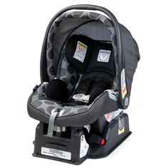 Peg Perego Car Seat in Pois Grey.  I had two for the twinies!  Loved them.