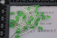 Find More EL Products Information about Free shipping 100PCS 3mm green  highlight luminous tube LED light emitting diodes,High Quality diod,China led diode price Suppliers, Cheap diode band from Goldeleway smart orders store on Aliexpress.com