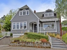 View 16 photos for 1916 Se Ave, Portland, OR 97214 a 4 bed, 3 bath, Sq. single family home built in 1925 that sold on Colonial Heights, Oregon House, Portland Oregon, My House, Building A House, Home And Family, Cabin, Architecture, House Styles