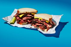 The 10 Most Iconic New York Sandwiches #refinery29  http://www.refinery29.com/best-sandwiches-nyc#slide-1  What: Pastrami SandwichWhere: Katz's DelicatessenKatz's Deli: The place itself is a New York institution. And its sandwiches — particularly the pastrami (which it serves</...