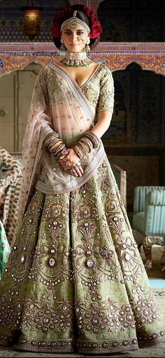Lehenga Choli Online Shopping from panache haute couture. Buy best designer lehenga at affordable rates. Designer Bridal Lehenga, Indian Bridal Lehenga, Indian Bridal Fashion, Indian Bridal Wear, Indian Wedding Outfits, Bridal Outfits, Indian Outfits, Bridal Dresses, Sabyasachi Lehenga Bridal
