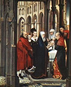 Presentazione di Gesù al Tempio di Hans Memling