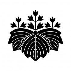 五三鬼桐 Japanese Symbol, Japan Design, Japanese Culture, Vintage Japanese, Rooster, Sunrise, Study, Symbols, Concept