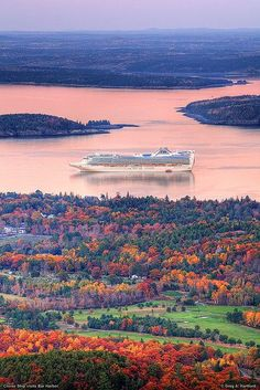 Went Here In 2007--flew Into Boston, Spent A Day And Then Drove Up To Bar Harbor, Maine. Gorgeous. #berlissy