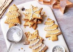 Gluten Free Dairy Free Sugar Cookie Cut Outs from Allergy Free Alaska (Gluten Free Recipes Biscuits) Dairy Free Sugar Cookies, Gluten Free Cookie Recipes, Gluten Free Bakery, Gluten Free Sweets, Allergy Free Recipes, Edible Christmas Gifts, Christmas Fudge, Christmas Pudding, Edible Gifts