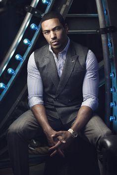 Laz Alonso for Fuzion Mag Fine Black Men, Gorgeous Black Men, Handsome Black Men, Most Beautiful Man, Black Man, Laz Alonso, Black Actors, Well Dressed Men, Man Crush