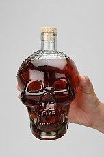 Urban Outfitters Glass Skull Decanter $24
