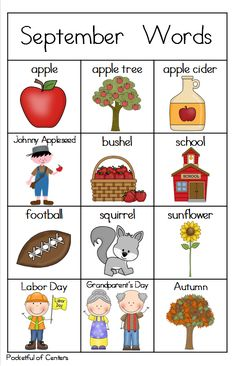 Great packet for September Writing Centers! Preschool Prep, Preschool Worksheets, Preschool Activities, Kids English, English Lessons, Learn English, Childhood Education, Kids Education, Toddler Learning