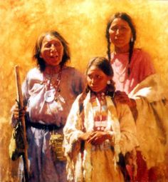 """the art of Sedona, Az  """"Three Generations"""""""