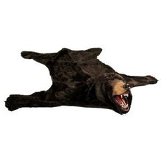 Faux Bear Rug - Animal Skins for Your Man Cave
