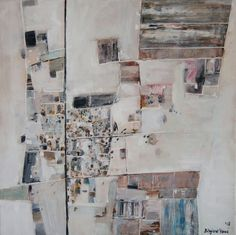 """""""Ras Sedr"""" painting by Bożena Zajiczek-Panuś from """"Earth Art"""" paintings series. This original painting features Egyptian town Ras Sedr, situated the Gulf of Suez #Egypt #Suez #RasSedr #desert #aerial #aerialpainting #satelliteview #Africa #modernpainting #contemporaryart #contemporarypainting #painting #BorkaArt #Earth #landscapeart #art #artlovers"""